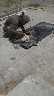 Pemotongan Marmer Granit