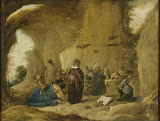 Temptation of St Antony by David Teniers II - Christianity, Religious Paintings from Hermitage Museum