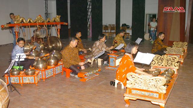 السويداء تستضيف المهرجان الثقافي الإندونيسي (صور)