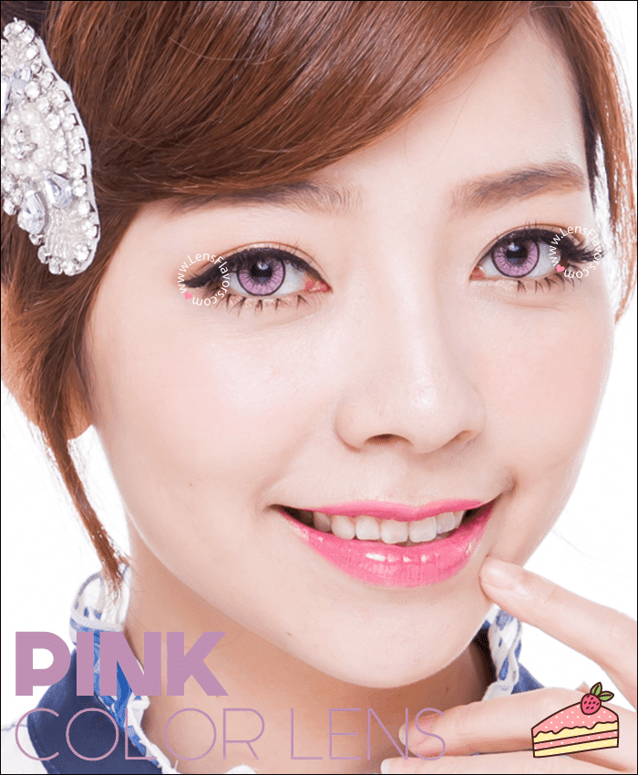 eos new adult pink colored contacts