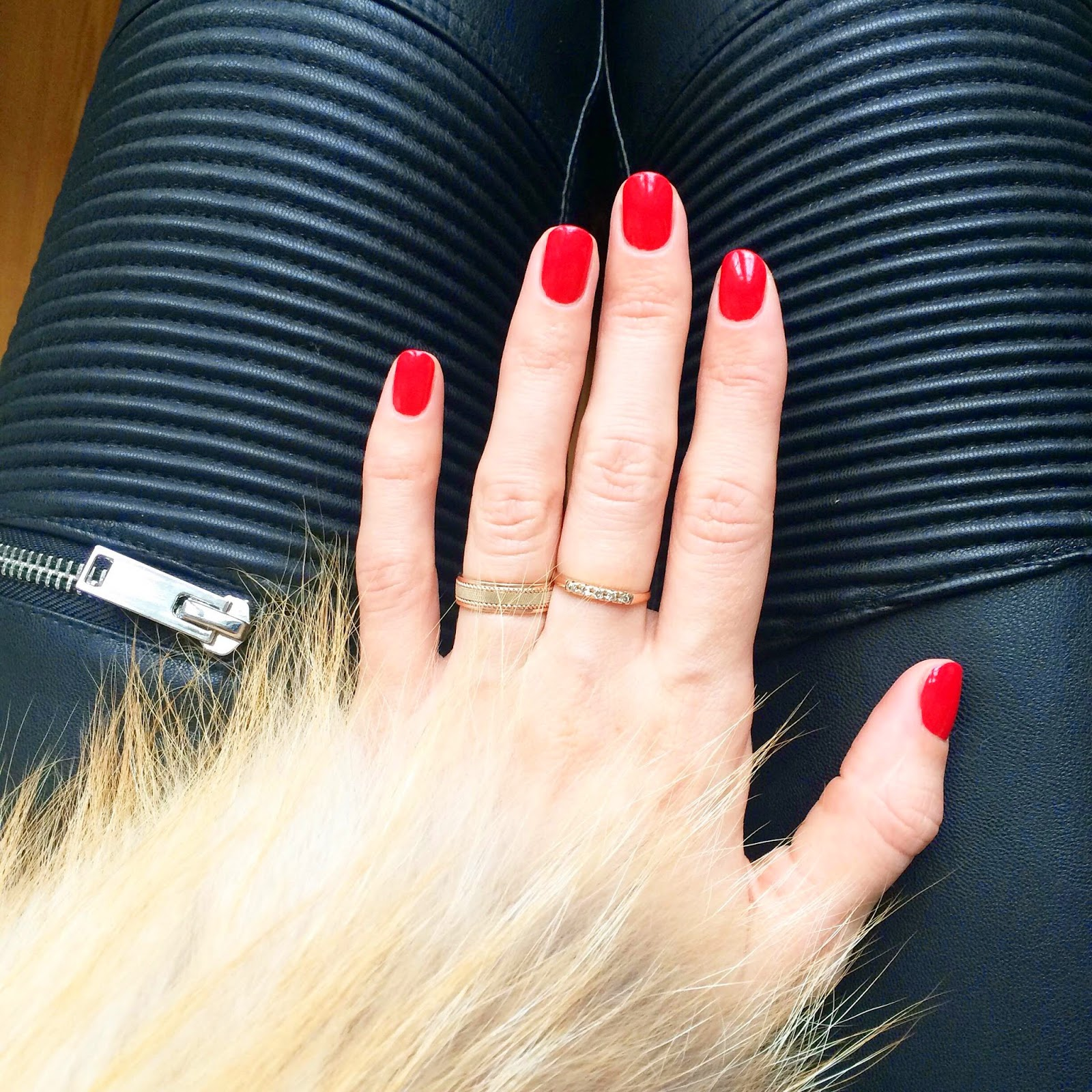 zara-leather-pants-fox-fur-jacket-red-sparitual-nail-polish