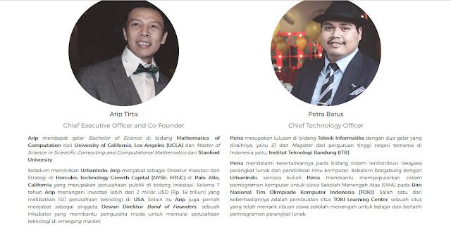 Visi dan Misi CEO Dan Juga Pendiri Urbanindo.com