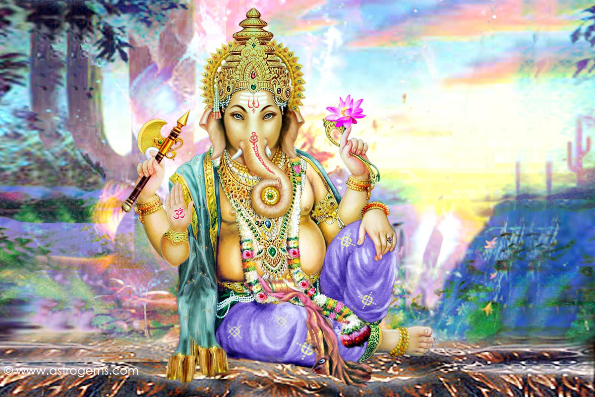 Lord Ganesha Wallpaper Gallery: Picture Collection: Hindu God Ganesh Wallpapers
