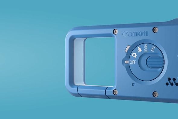 كانون تعلن عن كاميرا بحجم USB ومقاومة للماء