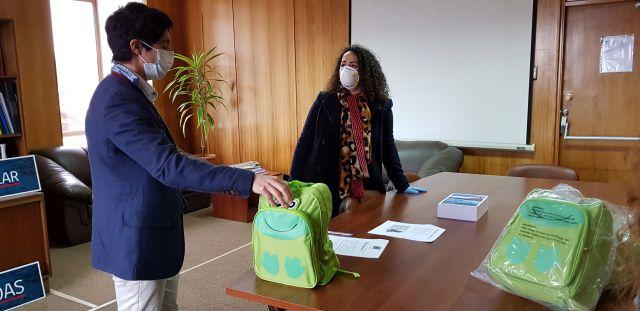 Residencias de niños y niñas, recibieron kits de emergencia en Los Lagos