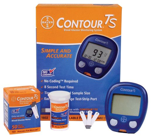 Bayer Contour Ts Glucometer Health Tips