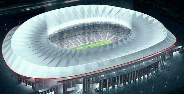 Atletico Madrid New 68,000 Capacity Stadium To Host 2019 Champions League final