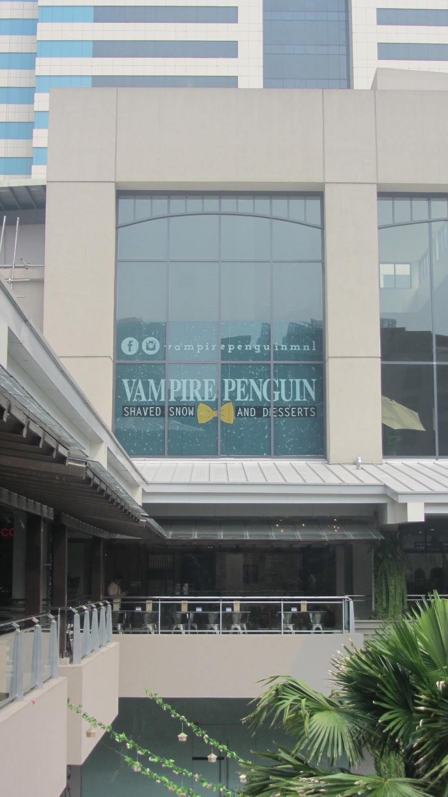 Vampire Penguin At Ayala Malls The 30th Walkandeat