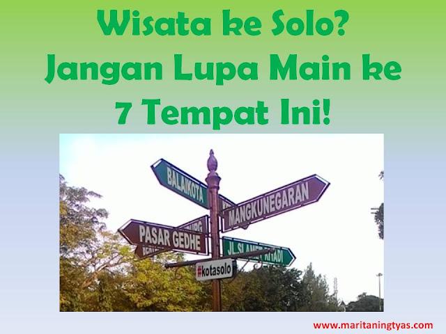 7 Tempat Wisata di Kota Solo