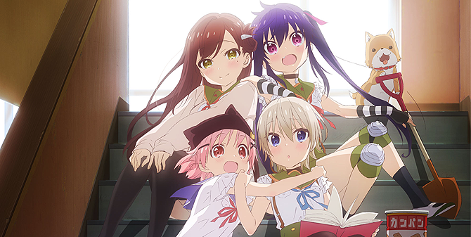 Gakkou Gurashi Episode 6 - Review/Reaction