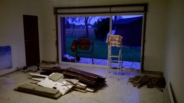 Binnenkasten raam uitbreken