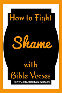 Bible prayers to overcome shame