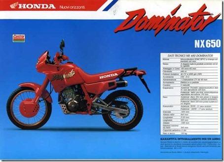 dominator - Garagem do colecionador: Honda NX650 Dominator 1992