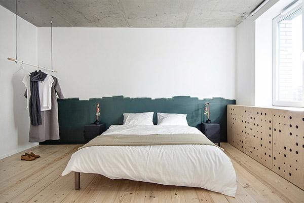 Chambre Décoration Scandinave Chambre Idées Sur La - Canapé convertible scandinave pour noël des chambres a coucher