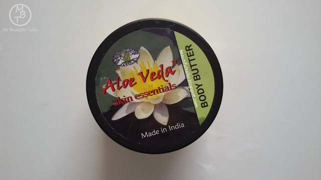 Aloe Veda Skin Essentials Luxury Body Butter | White Lotus |