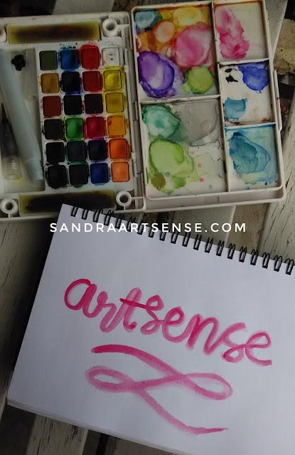 Hand lettering mudah dan murah