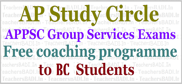 APPSC Group I/III Exams,Free coaching programme,SC Students,AP Study circle
