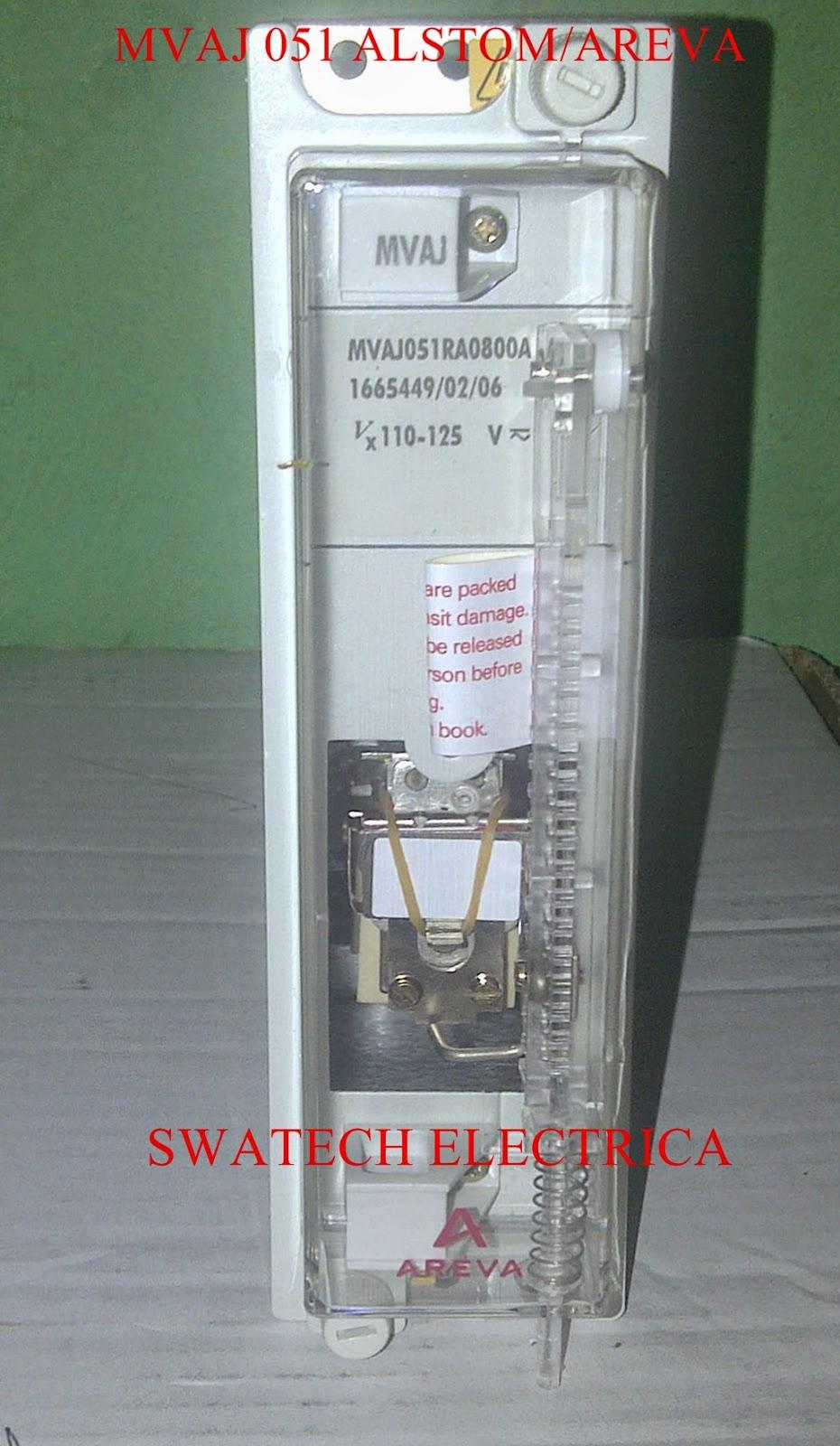 SWATECH ELECTRICA  Jualsell MVTU KMVAJ B MVAJ MVAA - Alstom electromagnetic relay catalogue