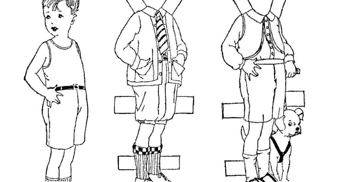 Mostly Paper Dolls Too!: Boys Just Want To Have Fun!