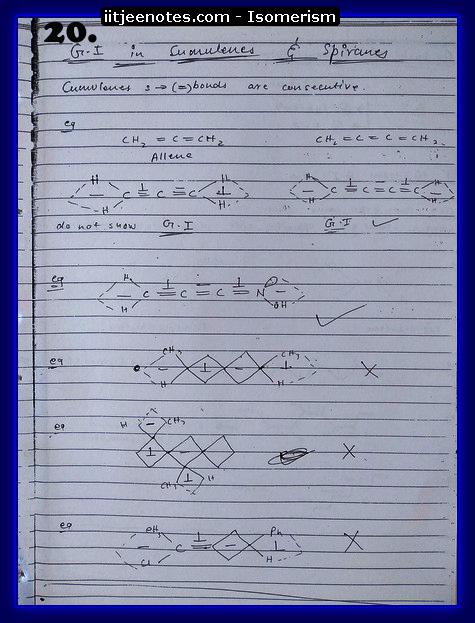 Isomerism Notes4
