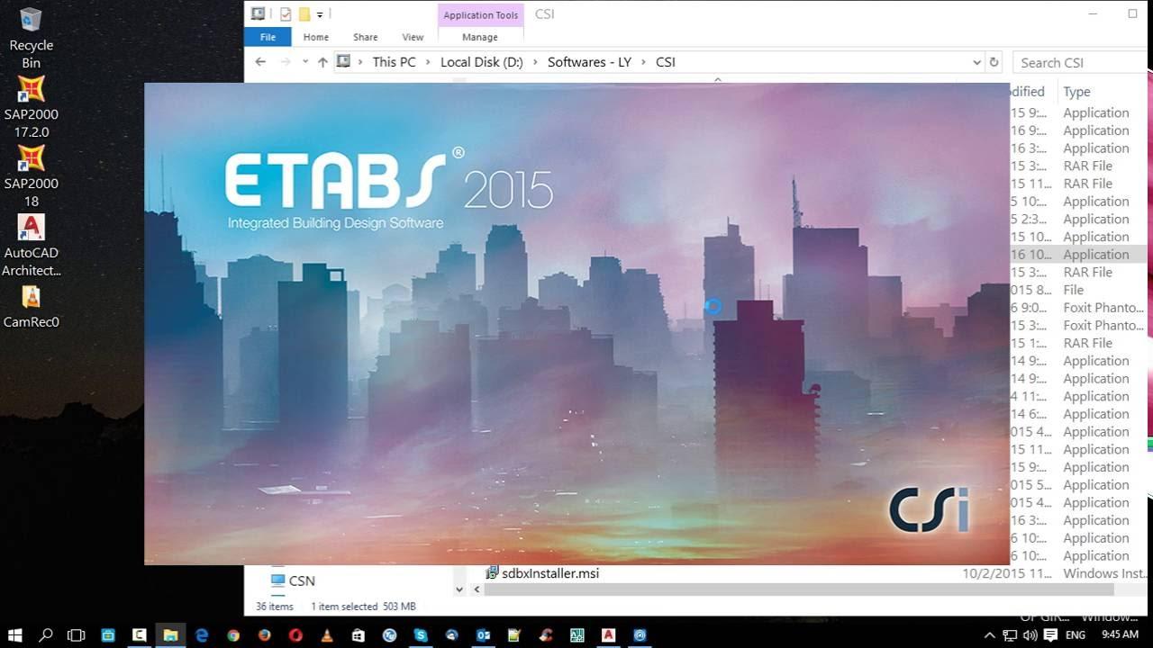 crack etabs 2015 32 bit