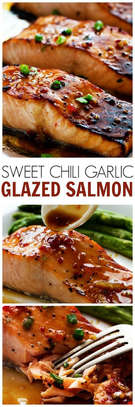 The Best Sweet Chili Garlic Glazed Salmon