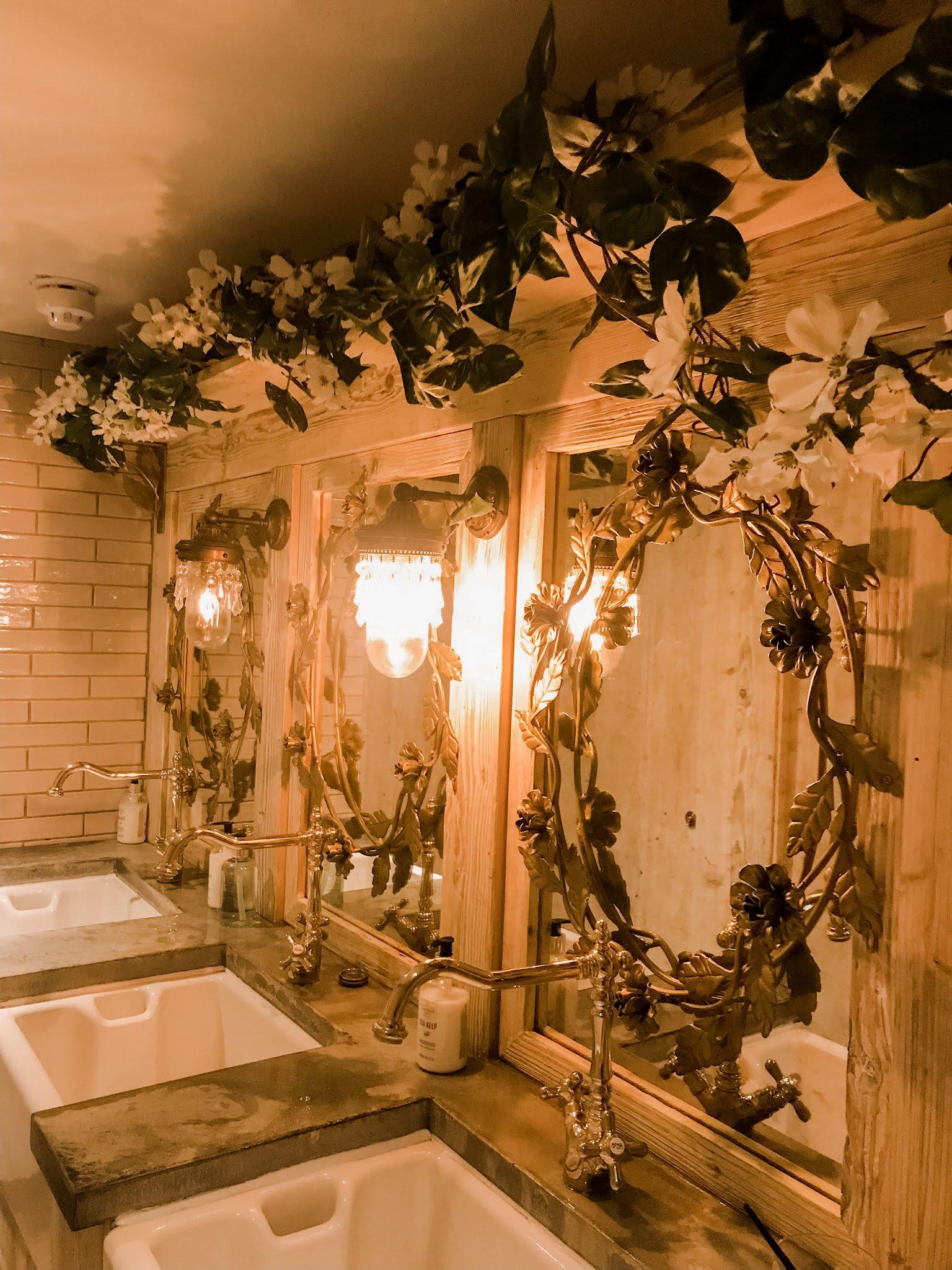 Beautiful bathroom interiors