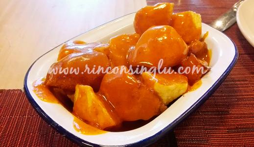 patatas bravas sin gluten en madrid as de bastos