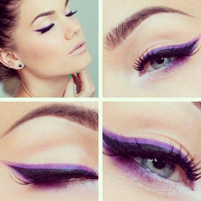 Foto 8 maquiagem lilas pele negra