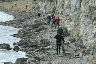 Скалы реки Белая