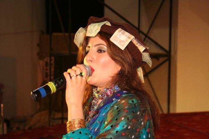 Nazia Iqbal Is A Popular Pakistani Pashto Singer, Nazia