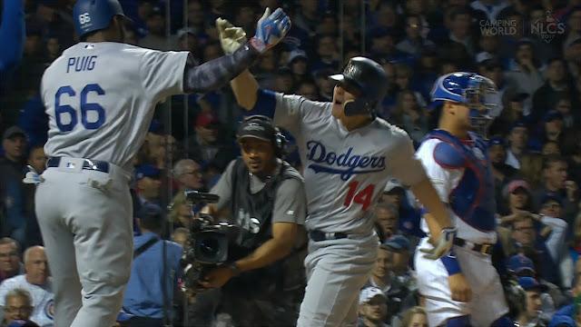 Propulsados por una trilogía de jonrones del utility puertorriqueño Kike Hernández, Yasiel Puig y los Dodgers finalmente acudirán a una Serie Mundial.