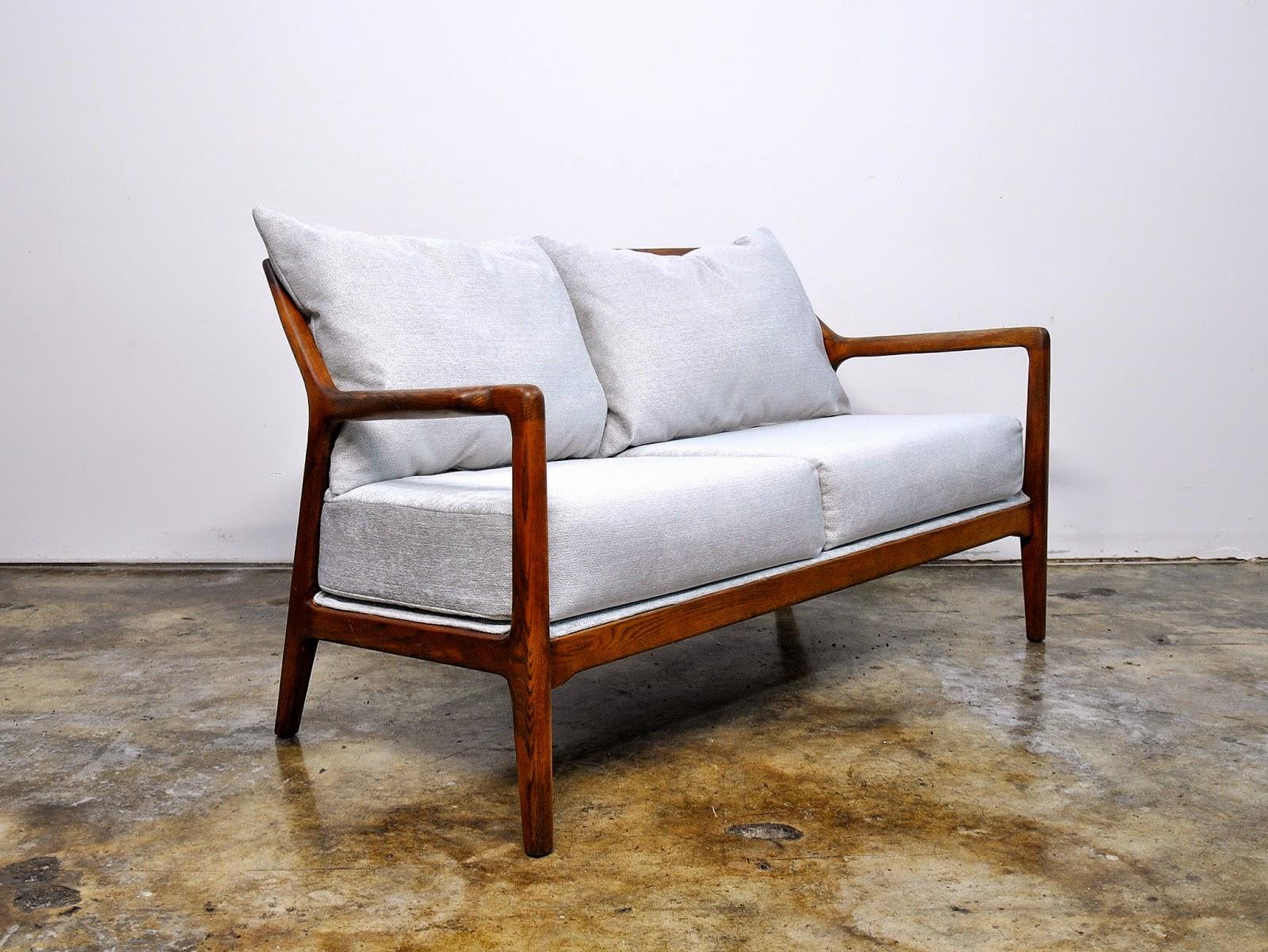 select modern jack van der molen love seat settee or small sofa. Black Bedroom Furniture Sets. Home Design Ideas