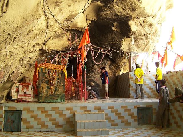 Hinglaj Mata Temple in the Lasbela district of Balochistan