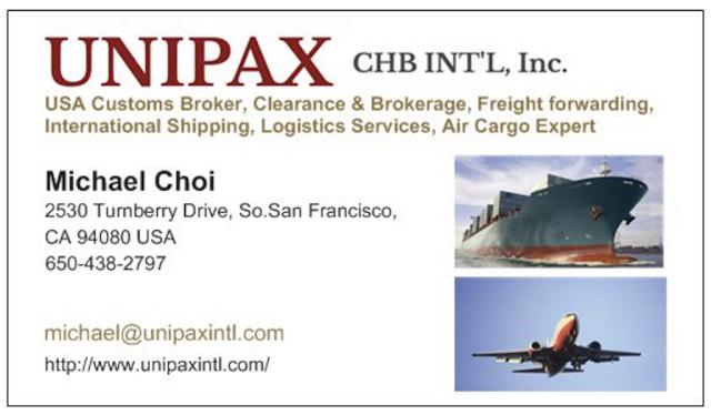 customs broker in San Francisco CA