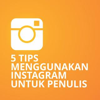 tips menggunakan instagram untuk penulis