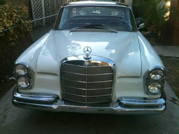 Daily Turismo: 5k: Chevy S10 Power: 1967 Mercedes-Benz 250 SE W111