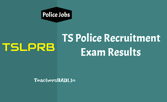 tslprb si result 2018,ts sub inspector results,ts police si results,telangana police exam result,ts si,asi,rsi,poilice constable results