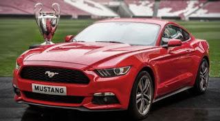 Eksterior Mobil Ford Mustang
