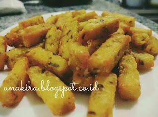 oregano french fries