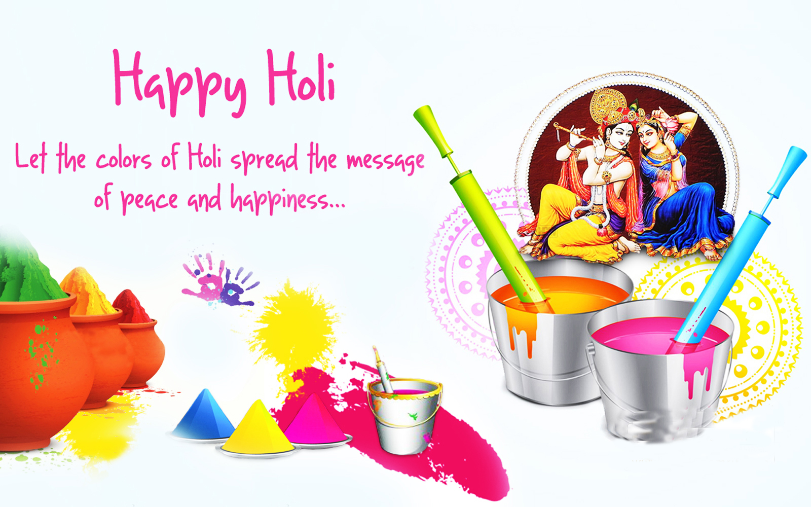 Holi Images for Facebook