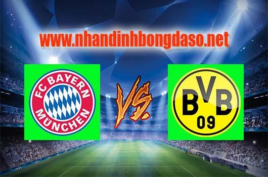 Nhận định bóng đá Bayern Munich vs Borussia Dortmund, 23h30 ngày 08-04