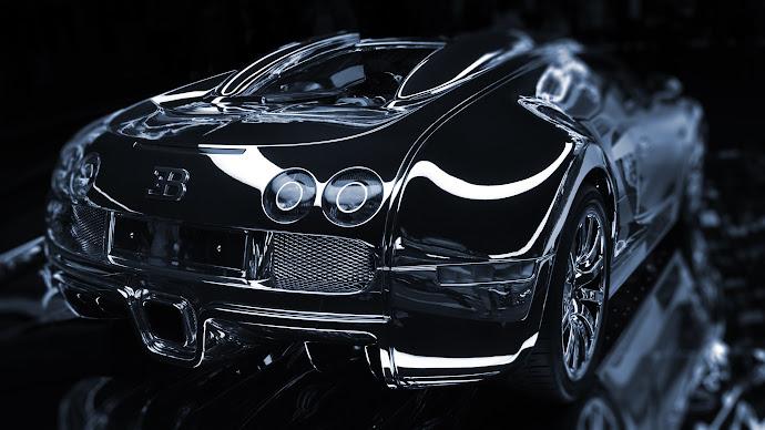 Wallpaper: Bugatti Veyron (Monochrome)