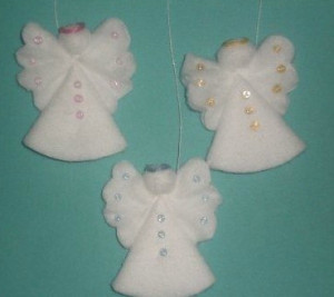 Праздничный декор своими руками: рождественские ангелы (МК и идеи)