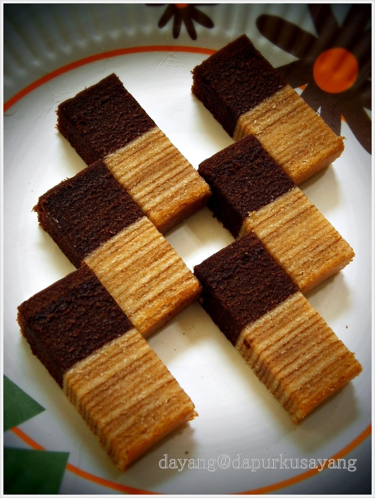 Dapurku Sayang Kek Lapis Keju Coklat