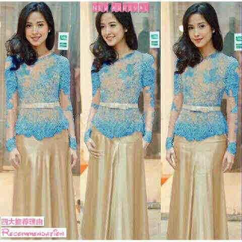 Gamis Elegan Cocok Untuk Kondangan Jual Baju Bagus Dan Keren