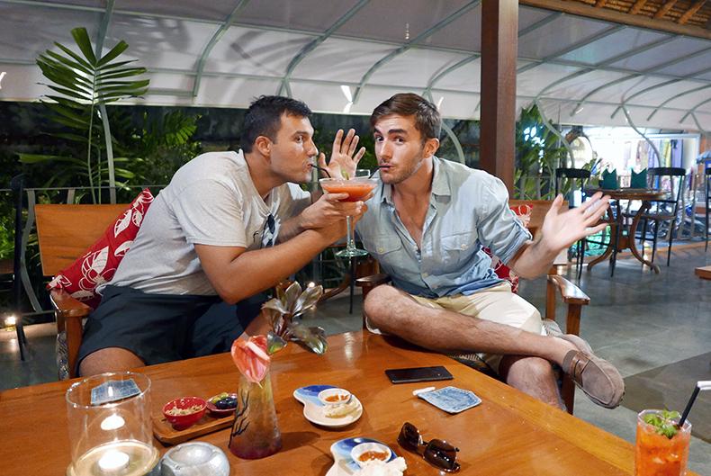Euriental | fashion & luxury travel | Ubud, Bali, boys being fancy