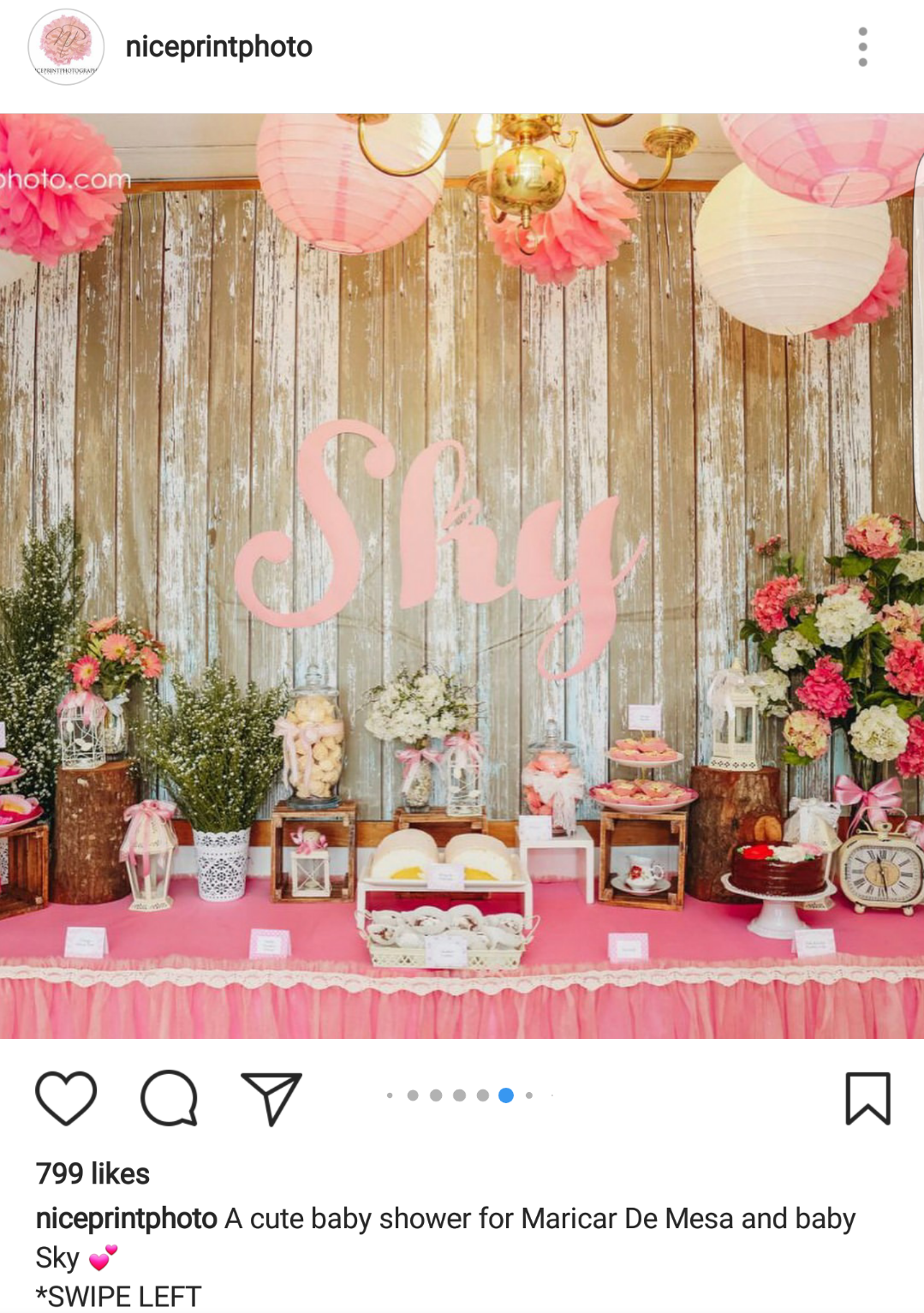 Fashion PULIS: Insta Scoop: Baby Shower Held for Maricar ...