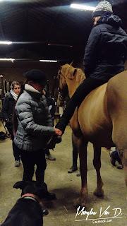 Le cavalier doit s'améliorer pour ne pas augmenter les disymétries de son équidé.