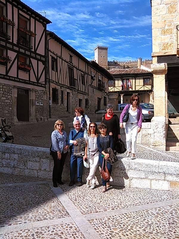 Amigos y Arte Ibieria en viaje por Castilla La Vieja